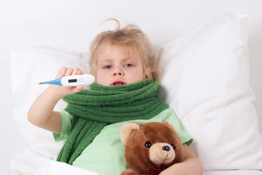 Резко высокая температура у ребенка