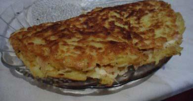 драники картофельные с курицей и сыром