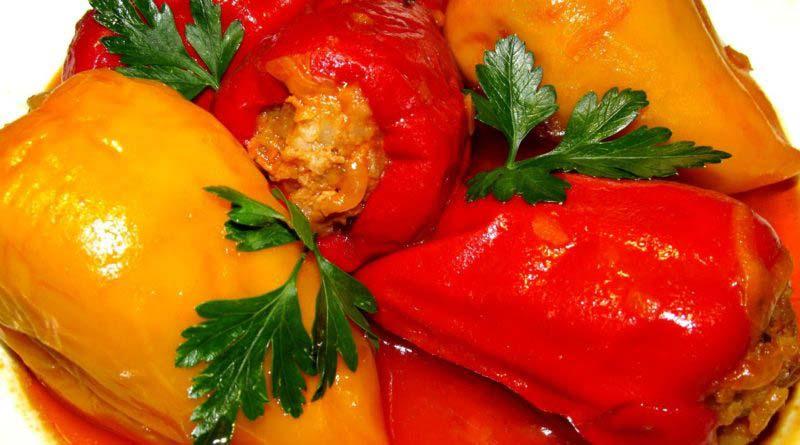 Фаршированный перец с овощами на зиму в банках: 6 лучших рецептов.