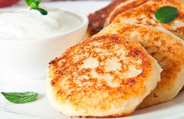 Сырники из творога рецепт на сковороде простой