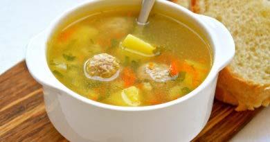Суп с фрикадельками, рецепт пошаговый с рисом и картофеле - 5 лучших рецептов.