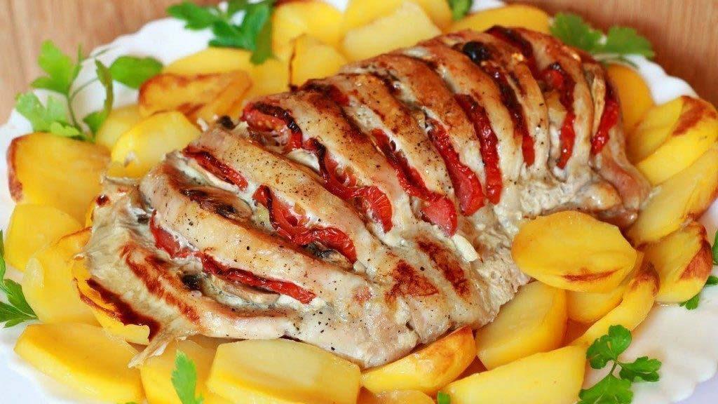 Горячие блюда из свинины
