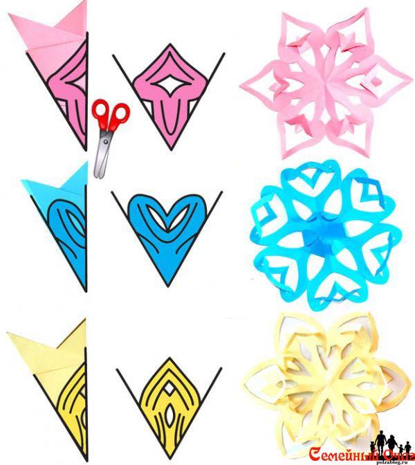 Хороший набор киригами