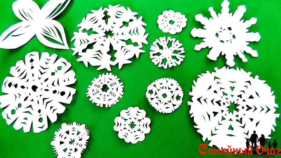 snezhinki-svomi-rukami-glavnaya Снежинки из бумаги - Шаблоны для вырезания - Как сделать снежинку своими руками - Схемы, трафареты, образцы