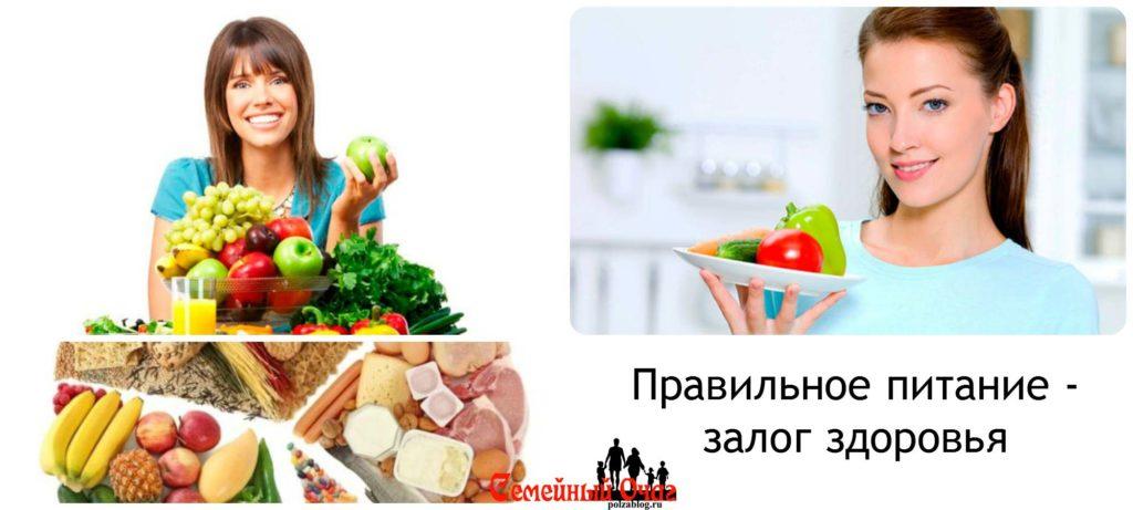 Правильное питание важно