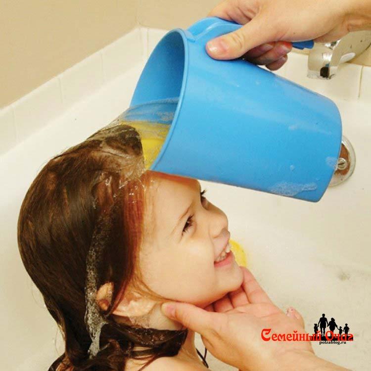 ковшик для мытья головы