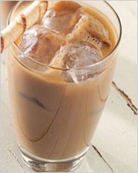 Холодный кофе.