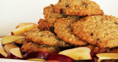 Домашнее овсяное печенье, простые и вкусные рецепты.