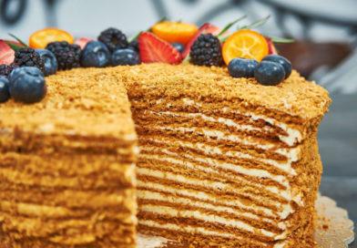 Торт «Медовик» или медовый торт — изумительные рецепты.