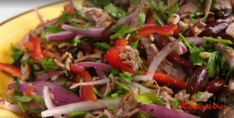 салат тбилиси классический