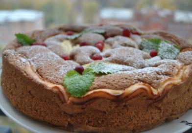 Творожный пирог -пошаговые рецепты вкусного и нежного пирога.