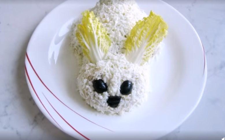 салат кролик