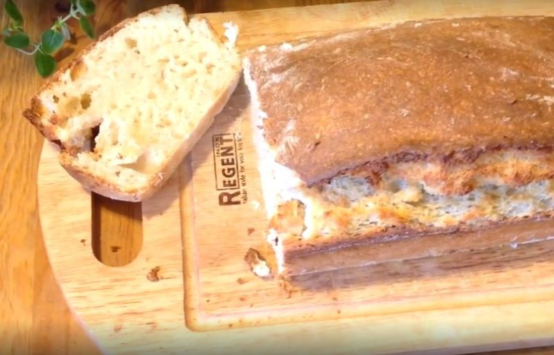 закваска на кефире хлеб
