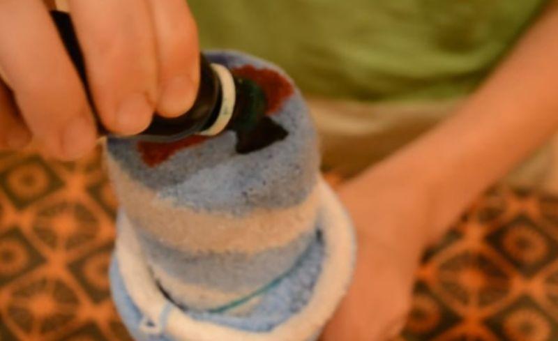 пищевые краски на носок