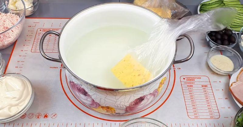 плавим сыр