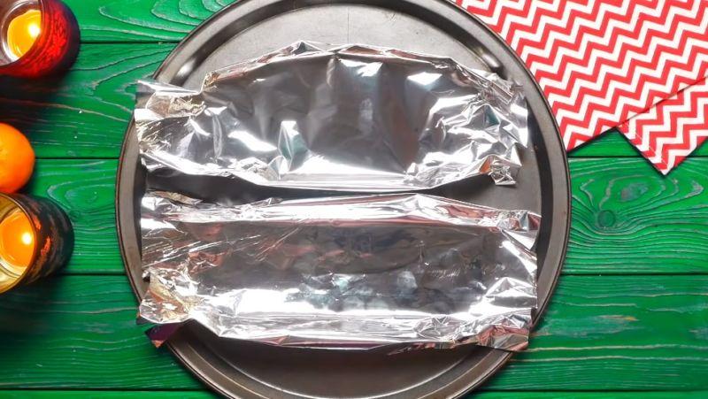 лодочки для выпекания из фольги