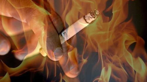 курение и пожар
