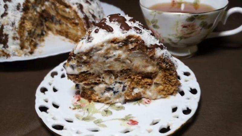 торт из пряников со