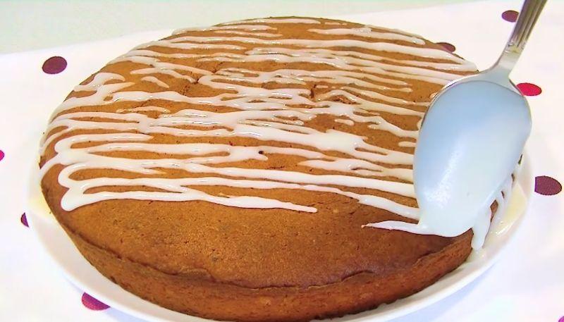 быстрый пирог с творогом