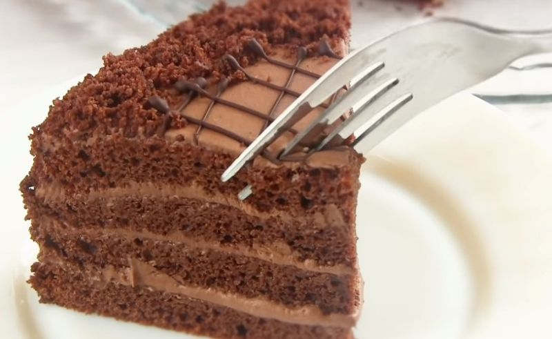 торт Прага по домашнему