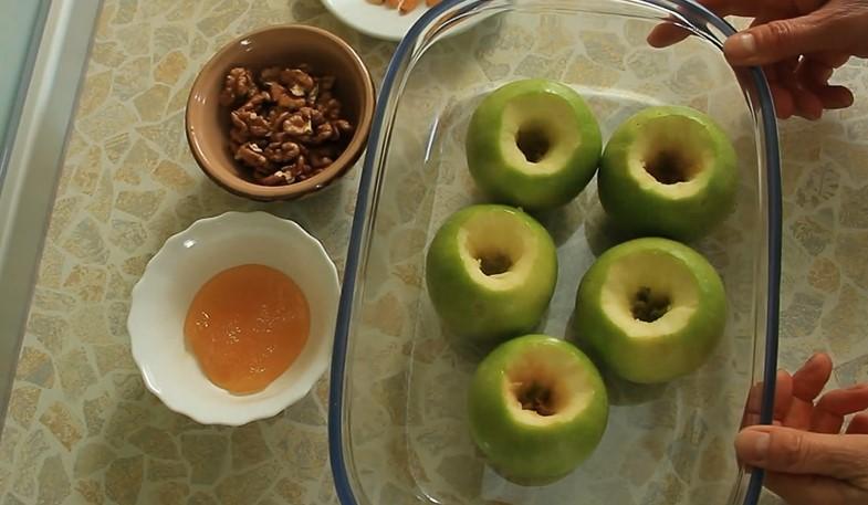 яблоки без сердцевины