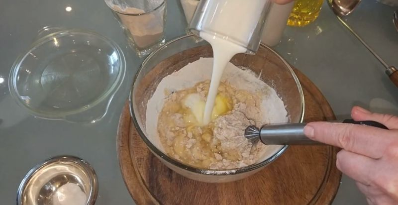 тесто на гречневые блины