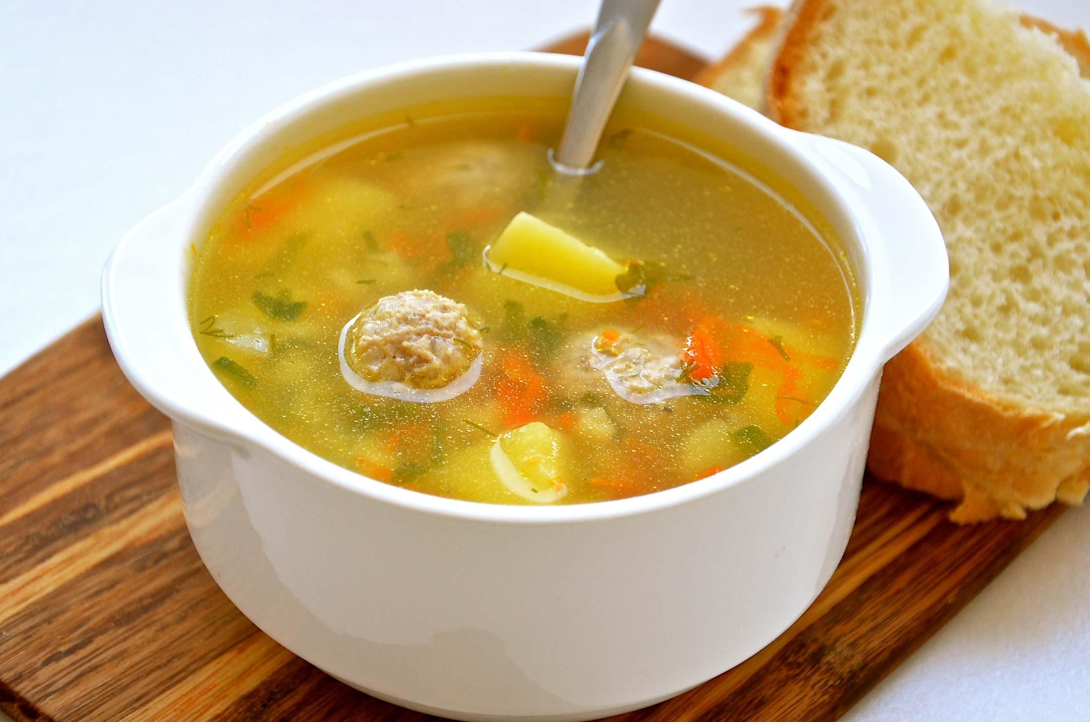 Фрикадельки рецепт для супа с рисом рецепт