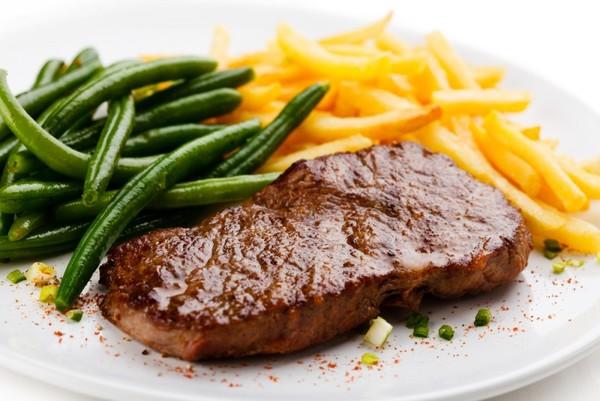 Отбивное мясо из говядины рецепт